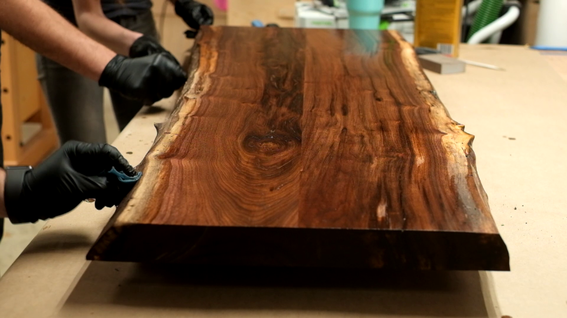 Picture of Finish Slab and Leg Pieces