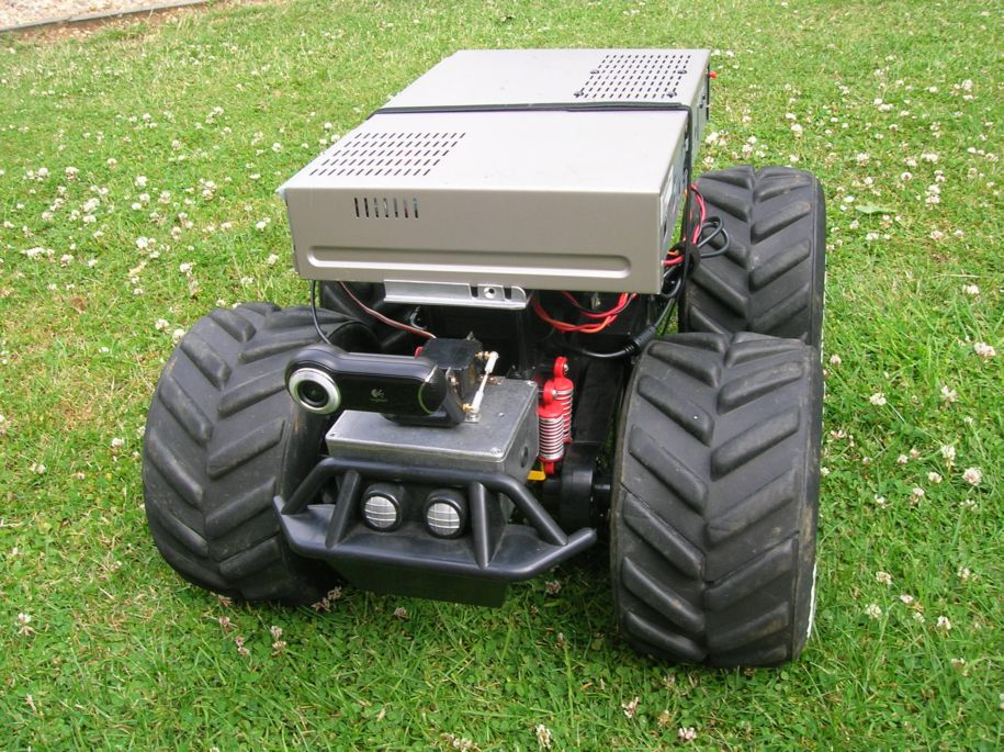 Picture of RC Truck Robot Conversion