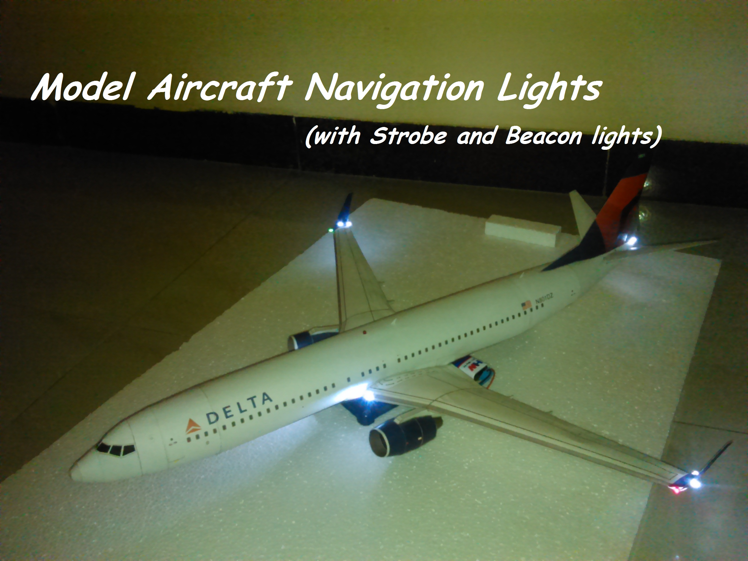 Picture of $1 Model Aircraft Navigation Lights