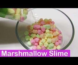 DIY Marshmallow Edible Slime