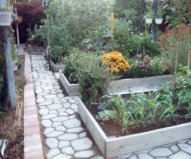 An Improved  Raised Bed Garden