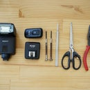 DIY flash trigger for Sony HVL-F32M/HVL-F43M