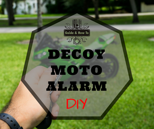 DIY - Decoy Alarm for Motorcycles