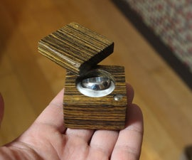 Making a Wooden Ring Box