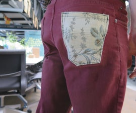 Replace the Butt Pocket on Your Jeans