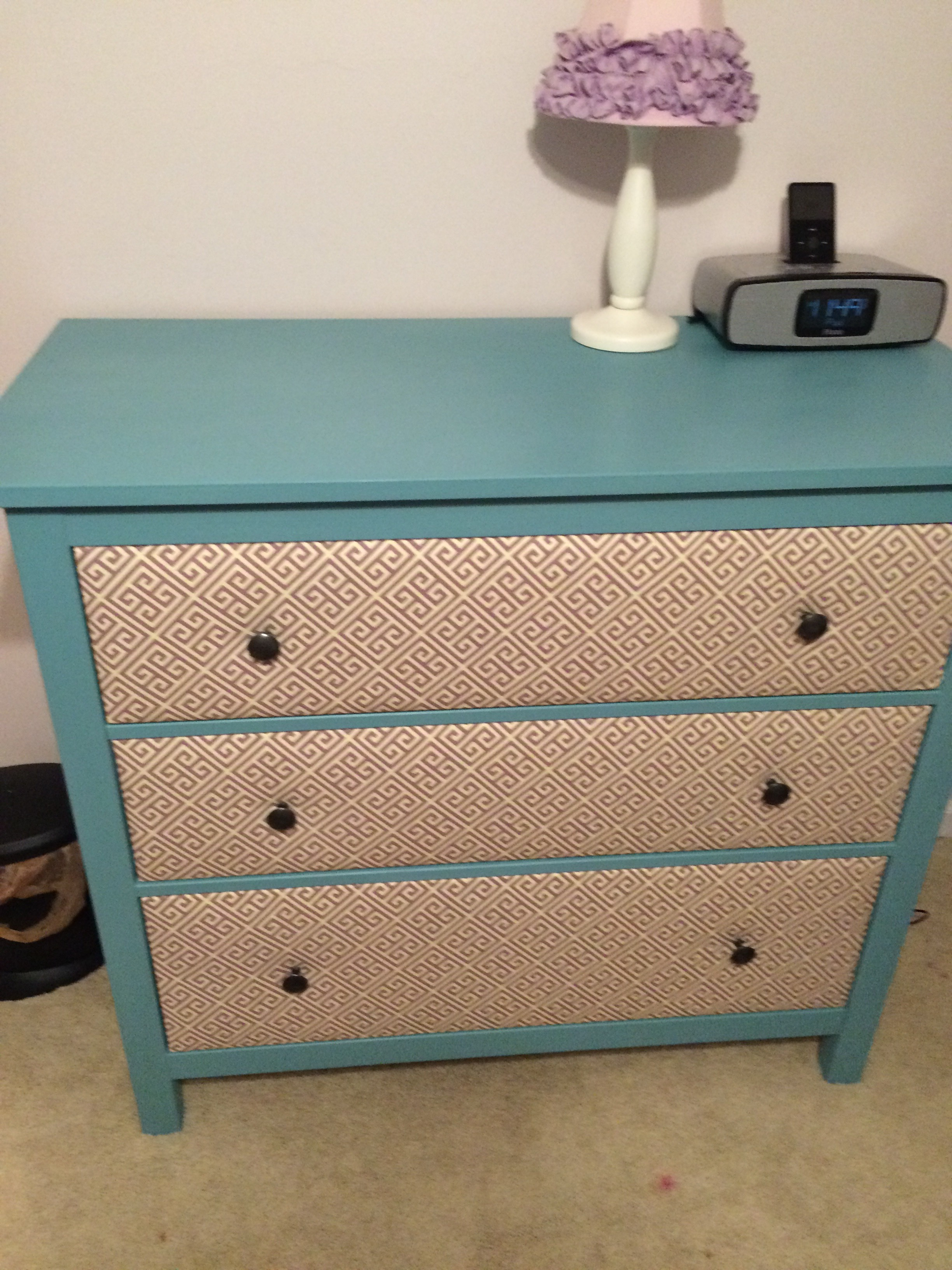 huge discount 2b37b 6e853 Fabric Covered IKEA Hemnes Drawer: 6 Steps (with Pictures)