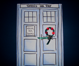 TARDIS Card - Bigger on the inside
