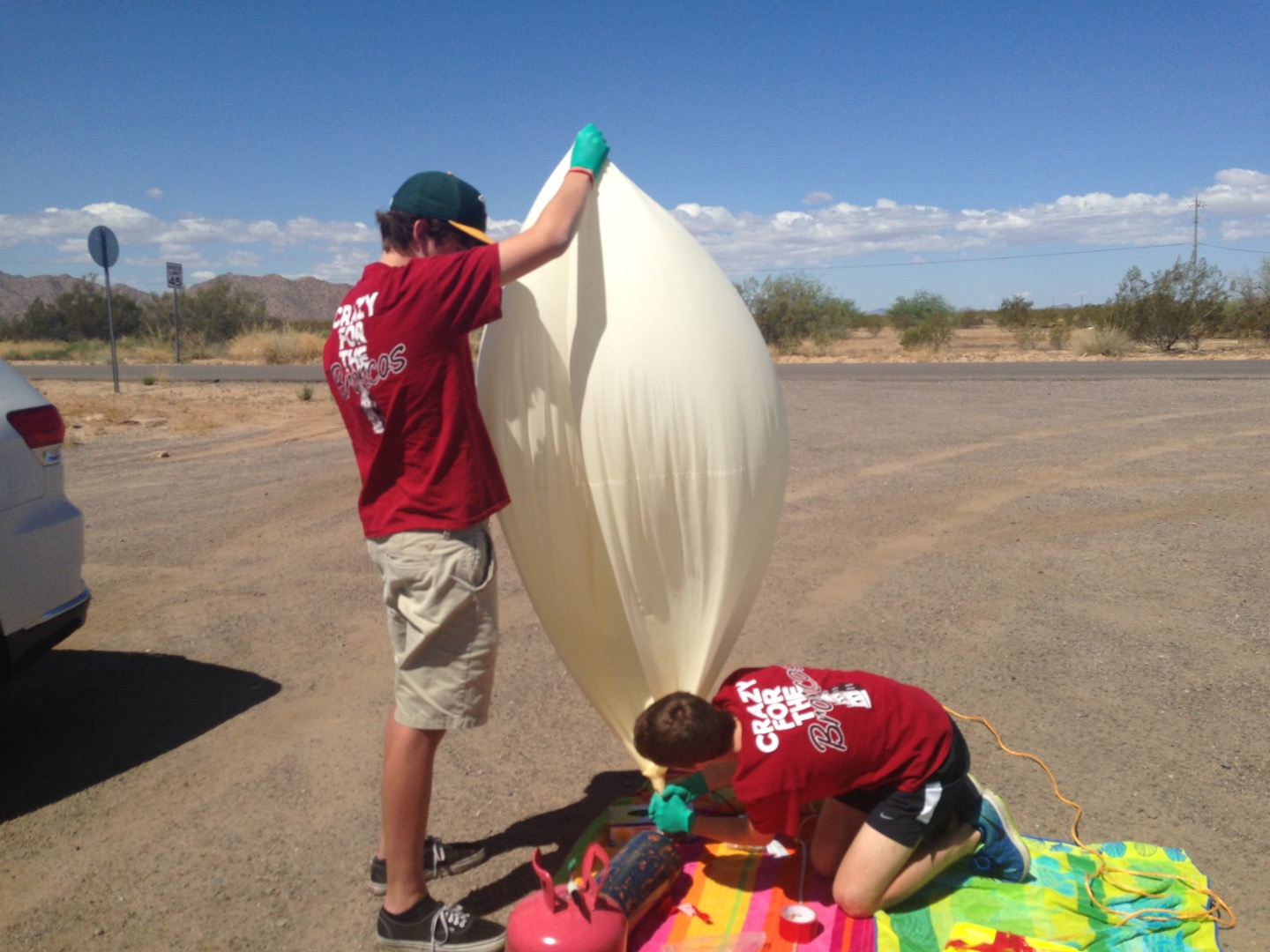 Picture of Inflating Balloon