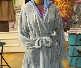 Custom Homemade Hoodie Robe ~ Gift for Daughter