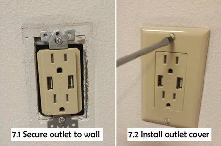Attach Outlet Cover