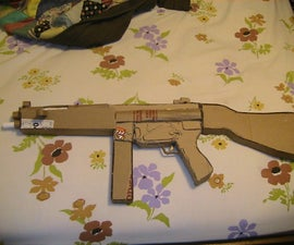 Cardboard MP5