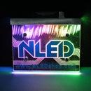 LED Pixel Edge Lit Acrylic Sign