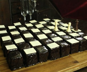 64 Piece Chess Board Cake