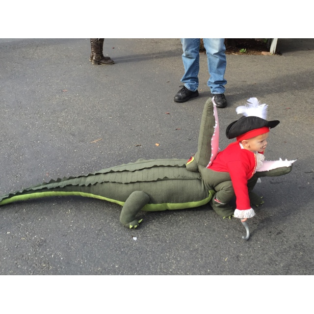 Picture of Captain Hook Getting EATEN by Tick Tock Croc