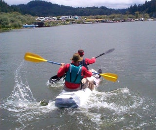 Cardboard Duct Tape Kayak