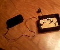Audio Amplifier With Salvaged Parts
