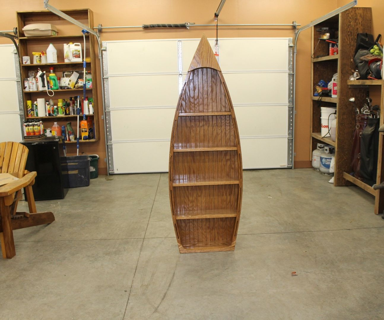How To Make A Boat With Shelving 7 Steps With Pictures
