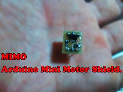 Mini Motor Shield for Arduino Breadboard Test