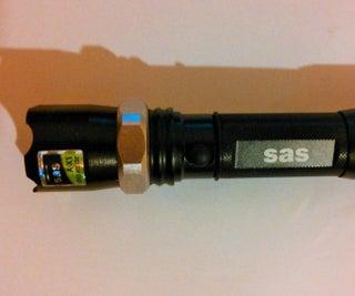 Flashlight Batteries From Laptop Battery