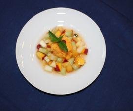Mango Papaya Chili Sorbet