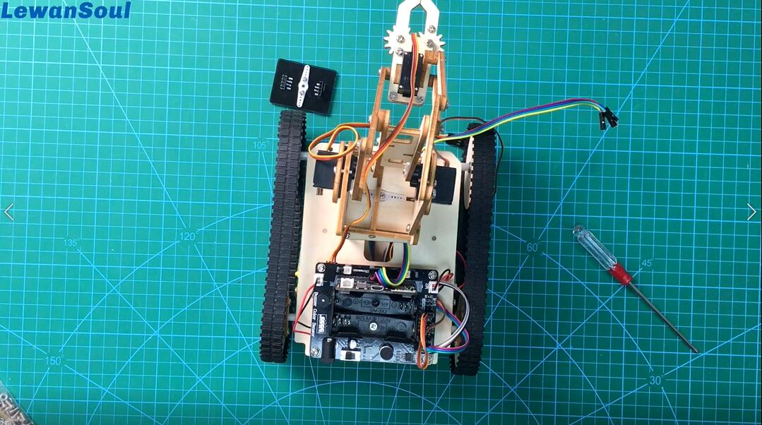 Picture of The Assembly of Armbit ( Robot Arm)_6