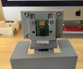 Building a 3D Printed Pan Tilt Case for a Raspberry Pi