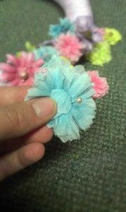 Applying Flowers