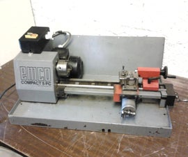 Downsizing a Broken Emco Compact 5 PC Lathe to Manual Operation.
