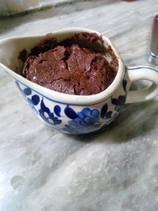 Chocolate Mint Cake in Microwave
