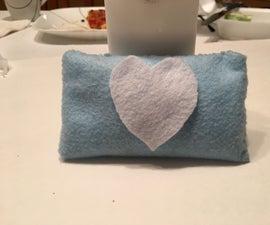 Mini Decorative Pillow Out of Felt