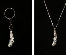 Precious Poo: Silver-Plated Cat Kaka Jewelry