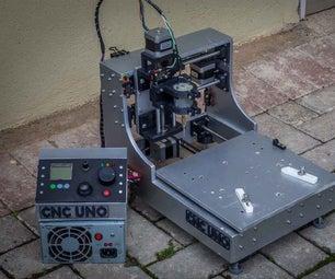 3D Printed Desktop CNC Mill