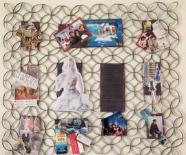 Make a Simple Pin Board Out of Recycled Materials
