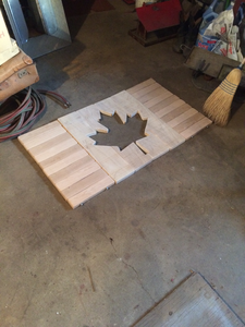 Maple Leaf Cut Out.