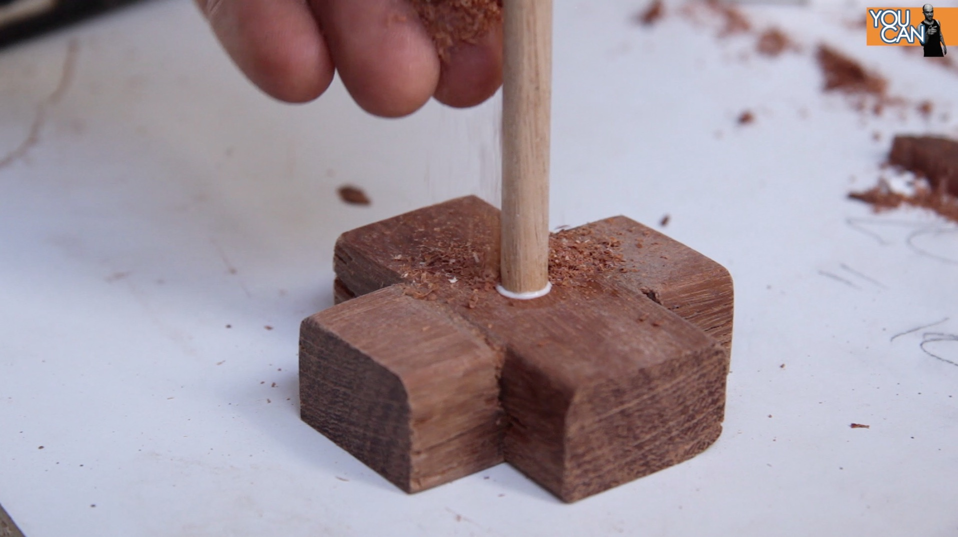 Picture of Attach the Dowel