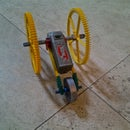 5 minute knex car with motor