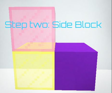 Picture of Idea Three Step Two Side Block