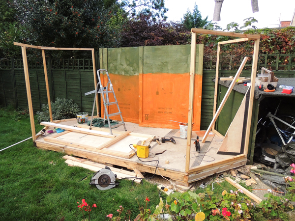 Picture of How to Build a Bespoke Summerhouse From Reclaimed Wood and Save Hundreds!