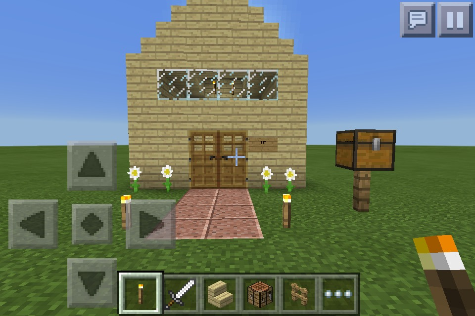 Picture of Minecraft Starter House