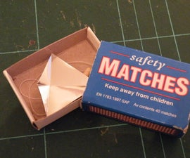 Matchbox Scale Microkite - just a square inch