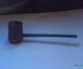 How to make a small Bamboo Pipe.