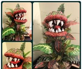 Halloween Monster Plant Prop