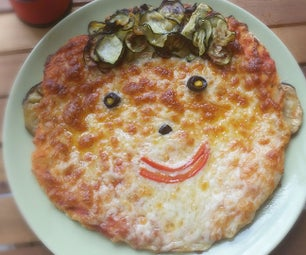 Happy Face Pizza for All the Seasons