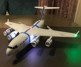 How to Install LED Light System on Ultra Micro C-17