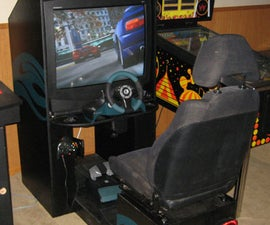 How to build a sit down driving arcade cabinet