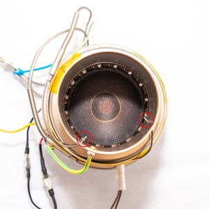 Modifying the Popcorn Machine: Disassembly and Thermocouples