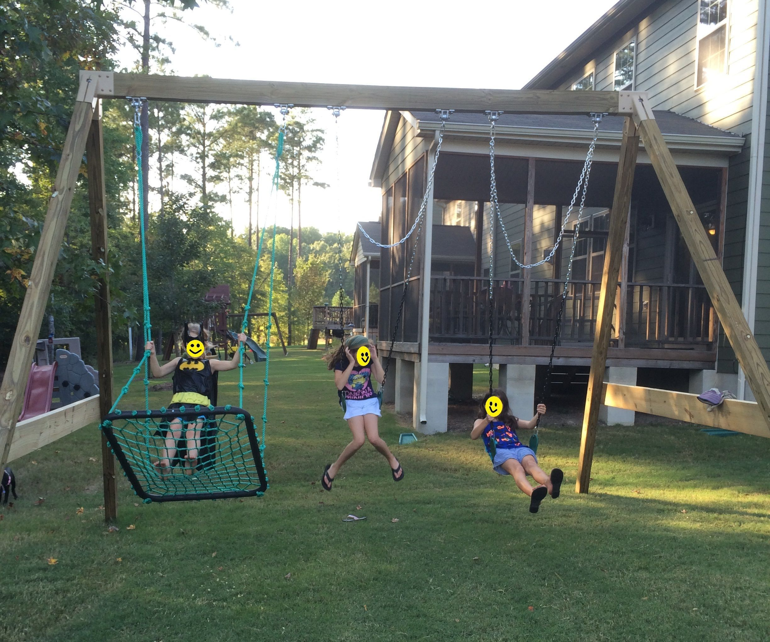 Free-standing A-Frame Swing Set: 8 Steps (with Pictures)