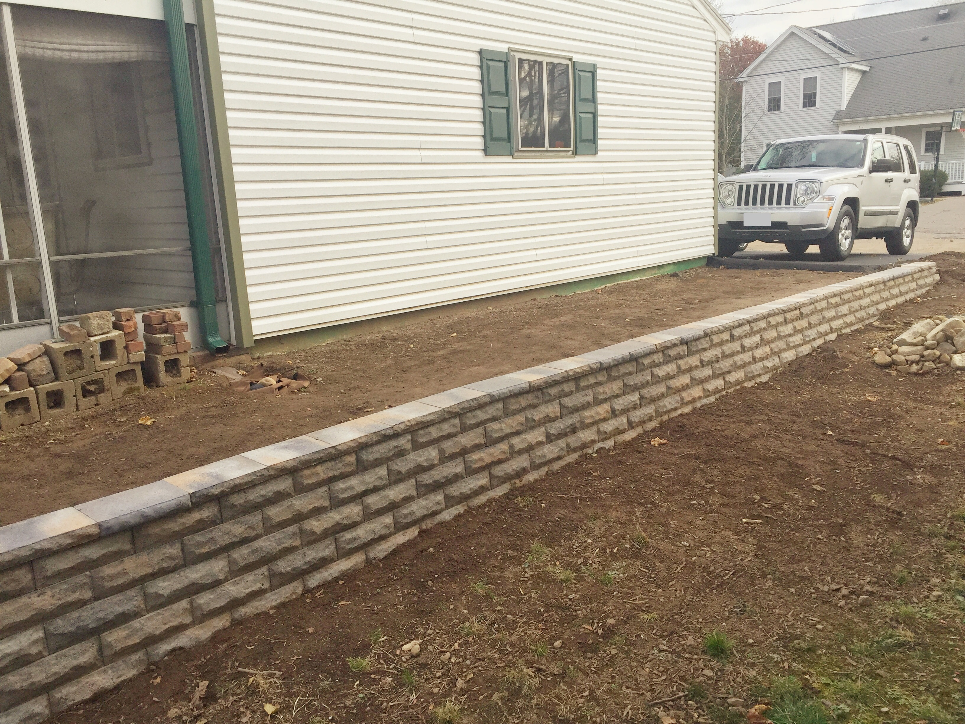 Picture of How to Build a Block Retaining Wall