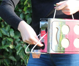 Wine Bag-in-Box-Cup holder
