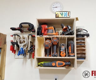 Organize Your Shop With French Cleat Tool Storage